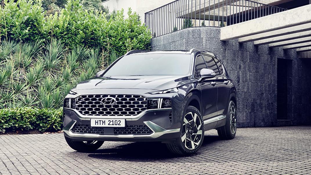 2021 Hyundai Santa Fe Exterior 001