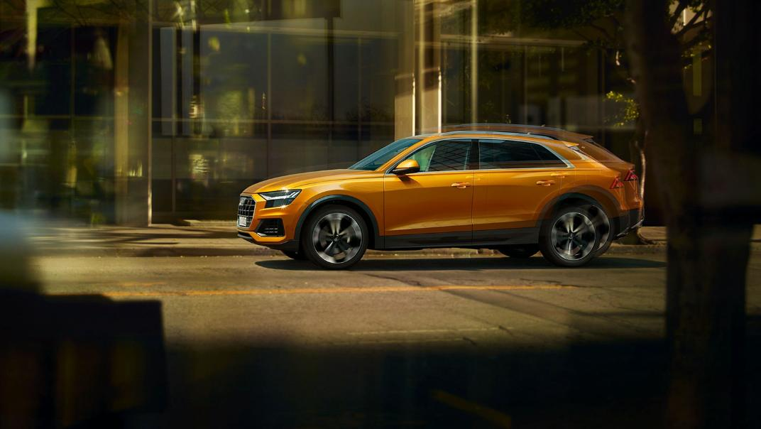 Audi Q8 2019 Exterior 010