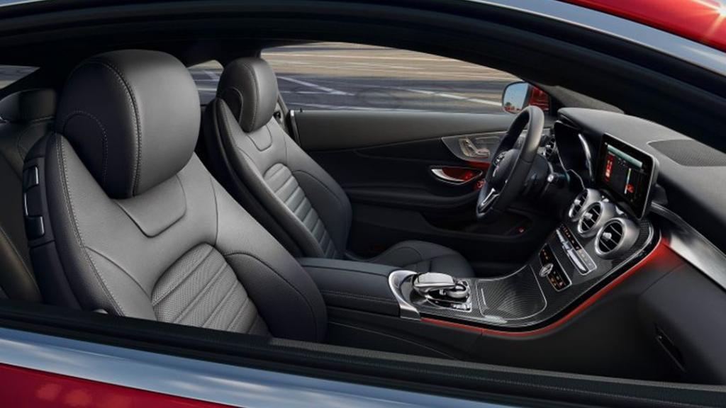 Mercedes-Benz C-Class Coupe 2019 Interior 009