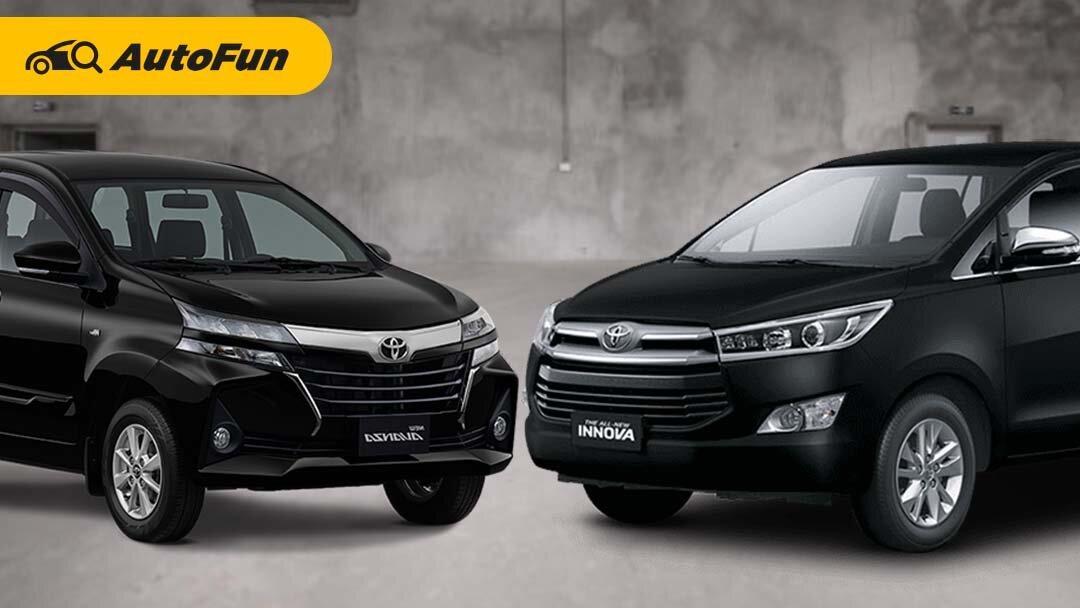 Duit Rp200 Jutaan untuk Mobil Keluarga 7-seater, Pilih Toyota Avanza Baru atau Toyota Kijang Innova Reborn Bekas? 01