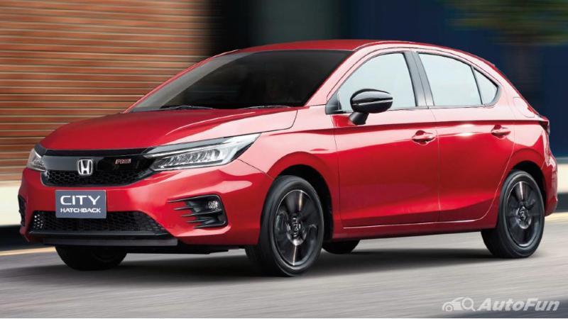 Honda City Hatchback 2021 Gantikan Honda Jazz, Ternyata
