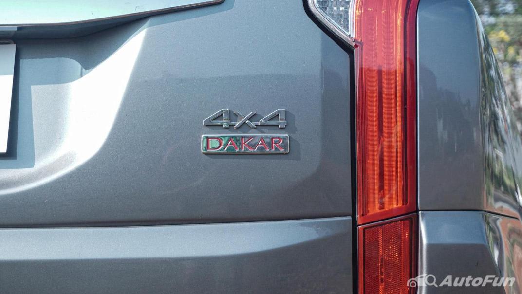 Mitsubishi Pajero Sport Dakar 4x4 AT Exterior 038