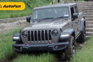 Mencicipi Jeep Gladiator Rubicon 2021, D-Cab Gagah Penarik Perhatian