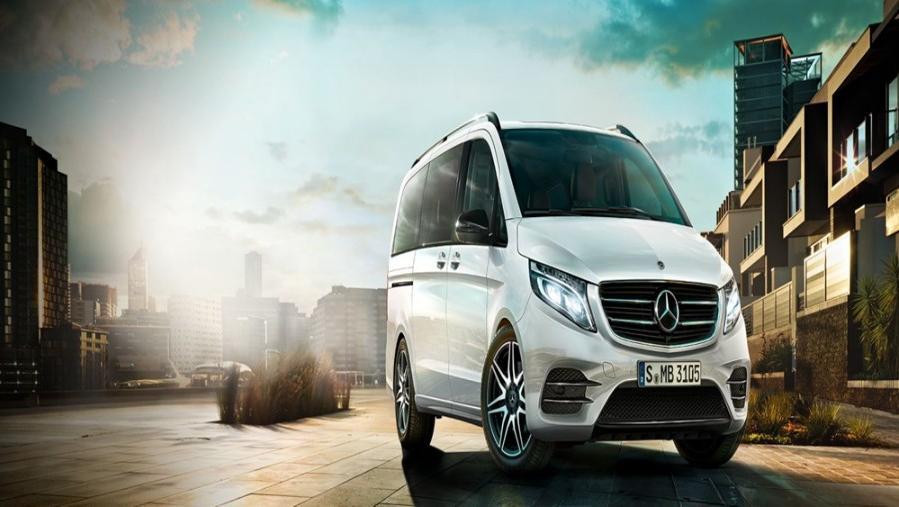 Mercedes-Benz V-Class 2019 Exterior 002