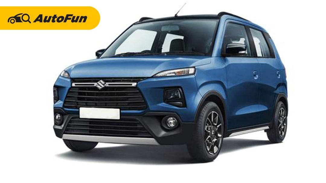 Suzuki Karimun Wagon R 2021 akan Mendapatkan Sentuhan ala Crossover 01