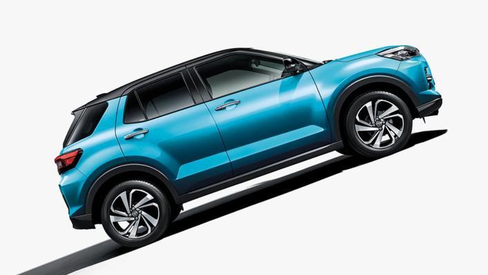 2021 Toyota Raize Upcoming Version Exterior 002