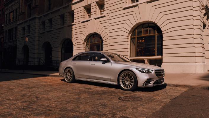 2021 Mercedes-Benz S-Class S 450 4MATIC Luxury Exterior 003