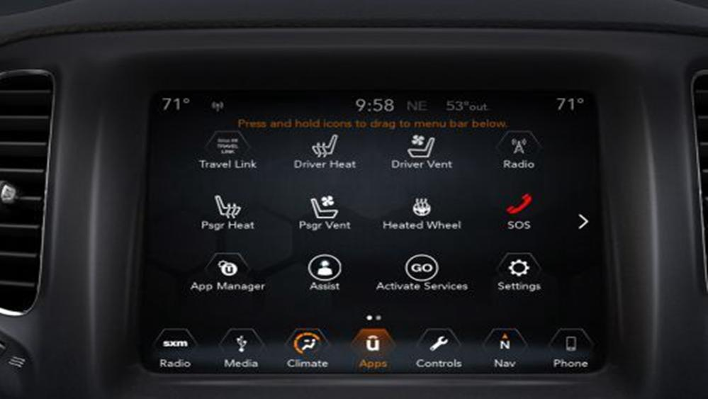 Jeep Compass 2019 Interior 005