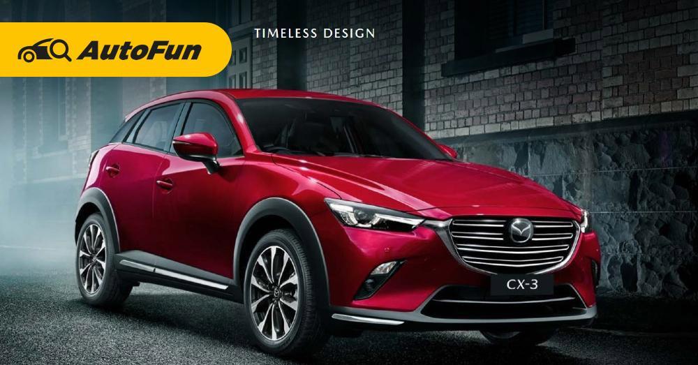 Kelengkapan Fitur Keselamatan Mazda CX-3, Lebih Nyaman di Segmen SUV Kompak 01