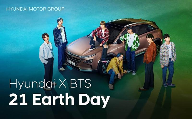 BTS Earth Day