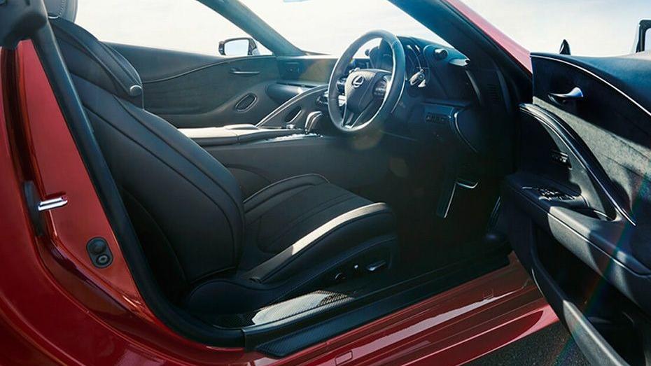 Lexus LC 2019 Interior 009