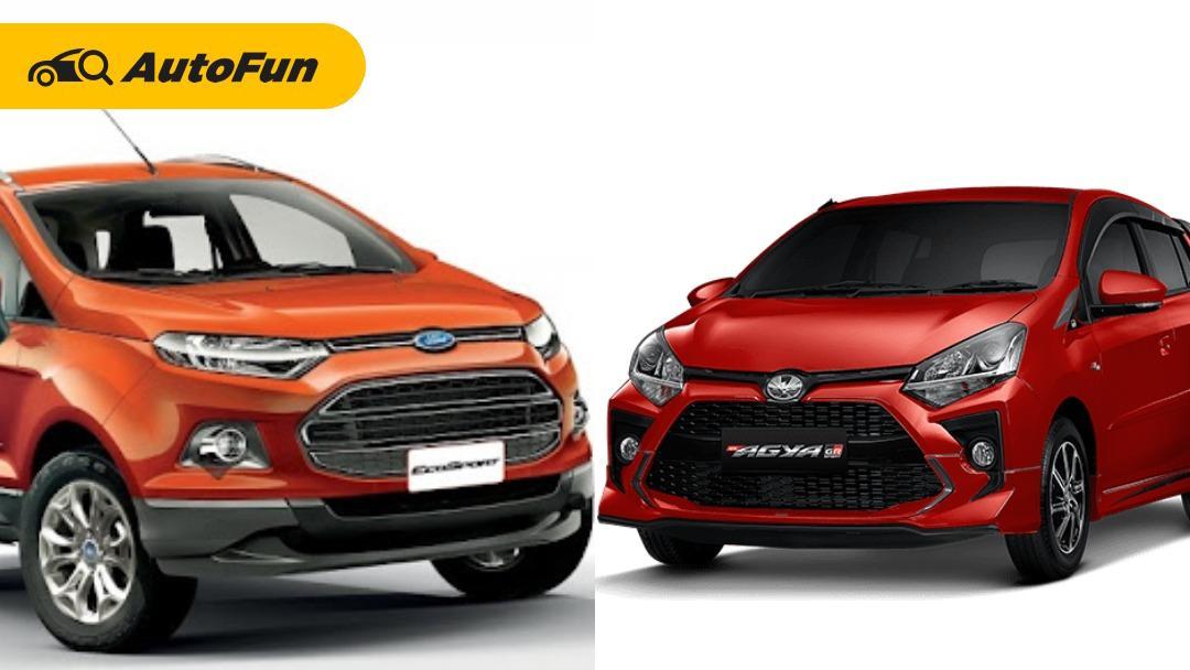 Nggak Cuma Harga Murah, Ini 5 Alasan Ford Ecosport Bekas Lebih Menggoda Daripada Toyota Agya Baru 01