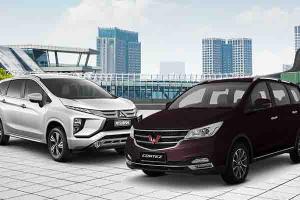 Komparasi Cicilan Termurah Wuling Cortez CT 2021 vs Mitsubishi Xpander 2021, Mana yang Kalian Pilih?