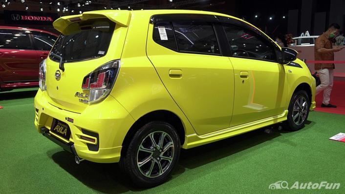 2021 Daihatsu Ayla Exterior 002