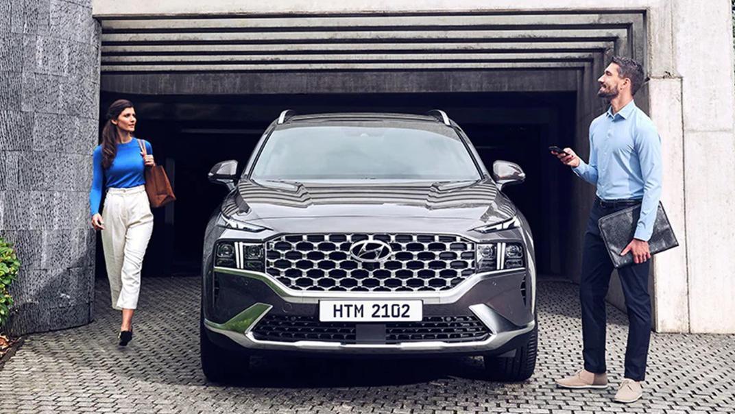 2021 Hyundai Santa Fe Exterior 007