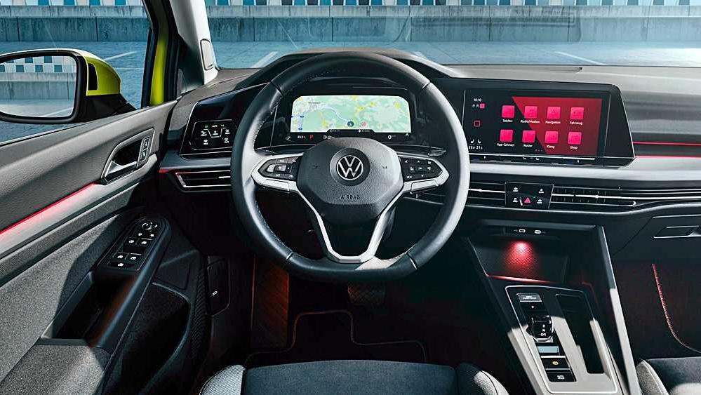 Volkswagen Golf 2019 Interior 066