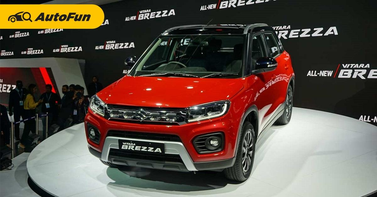 Suzuki Siapkan Mobil Baru di Semester Dua, Apakah Suzuki Vitara Brezza 2021 Akan Lawan Daihatsu Rocky? 01