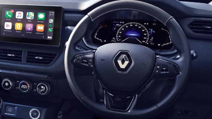 2021 Renault Kiger RXL Upcoming Version Interior 002