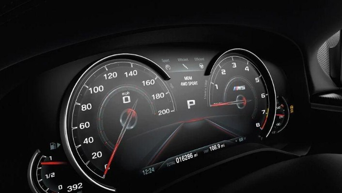 BMW M5 2019 Interior 004
