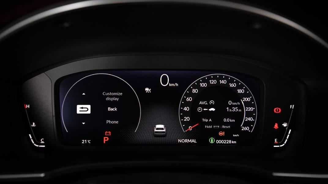 2022 Honda Civic Upcoming Version Interior 017