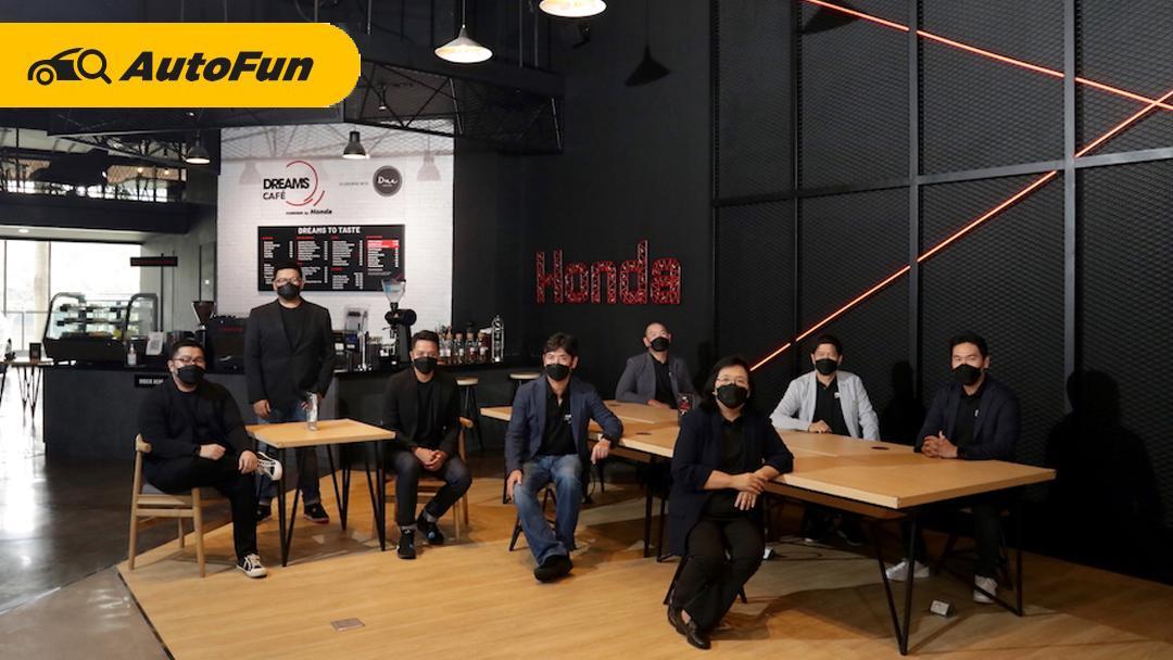 Dreams Cafe Powered by Honda, Kafe Pertama di Dunia Dari Honda Hadir di Indonesia 01