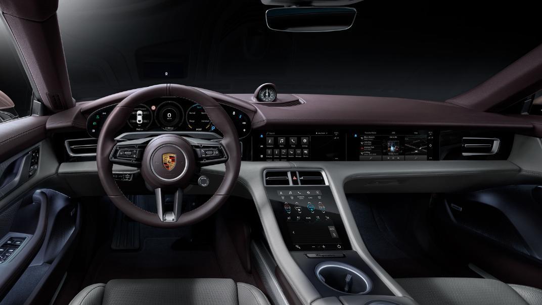 2021 Porsche Taycan Interior 001