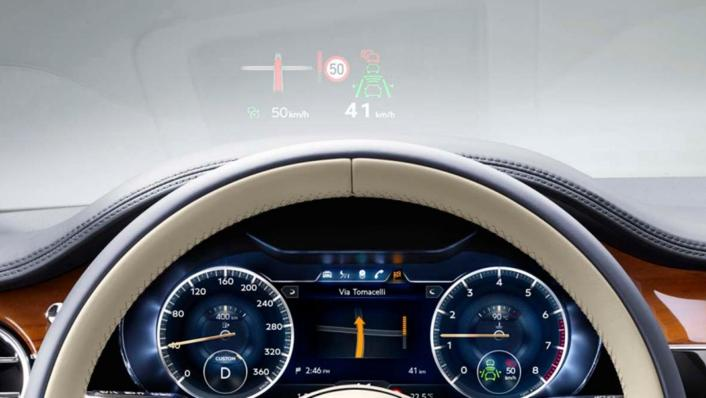 Bentley Continental 2019 Interior 002