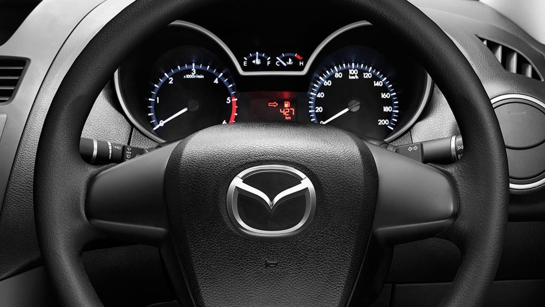 2021 Mazda BT-50 Upcoming Version Interior 002