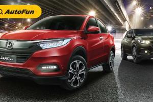 Harga Kemahalan, Toyota C-HR Kalah Beken Dari Honda HR-V 2021