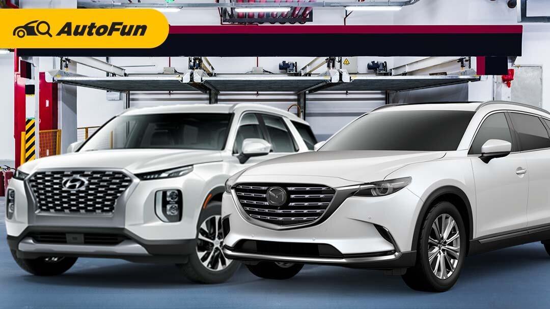 Mobilnya Orang Kaya, Ini Keunggulan Mazda CX-9 AWD 2021 Vs Hyundai Palisade 2021 01