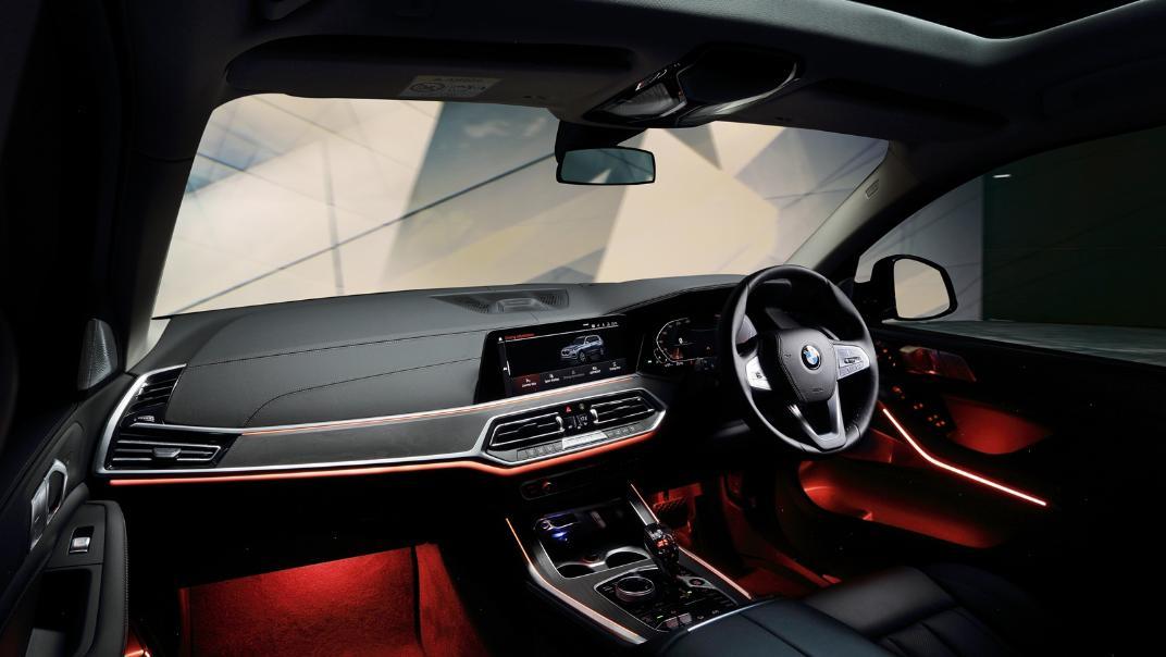 2021 BMW X7 xDrive40i Opulence Interior 002