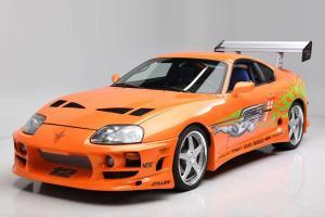 Toyota Supra di Film The Fast and The Furious Ini Dilelang, Satu-satunya yang Pernah Dikemudikan Paul Walker