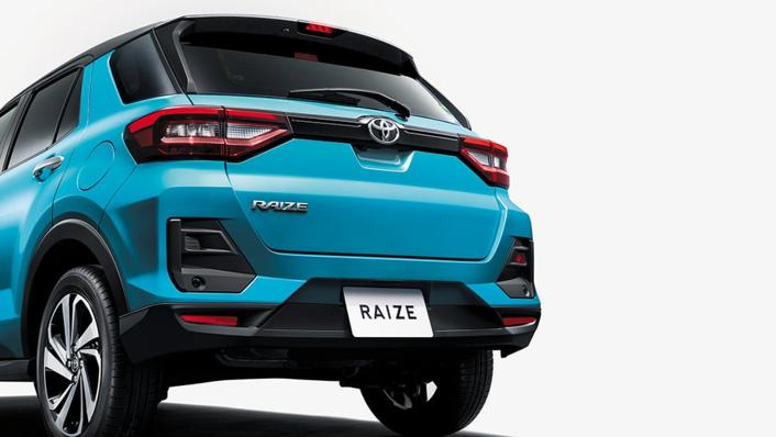 2021 Toyota Raize Upcoming Version Exterior 003