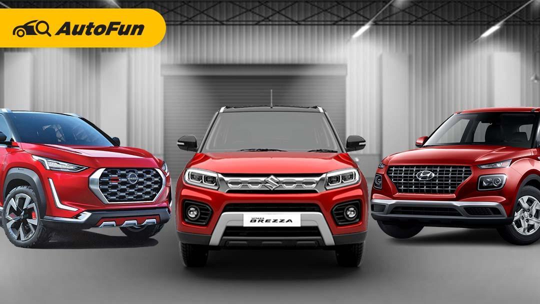 Bagaimana Jadinya Kalau Hyundai Venue 2021, Nissan Magnite 2021 dan Suzuki Vitara Brezza 2021 Ikut Meramaikan Otomotif Tanah Air? 01