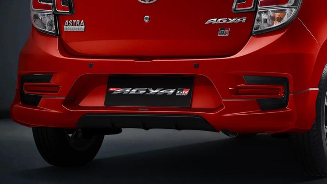 2021 Toyota Agya 1.2 GR Sport A/T Exterior 015