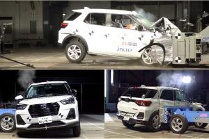 Hasil Uji Tabrak Toyota Raize dan Daihatsu Rocky Raih Bintang 5, Lengkapi Jaminan Keselamatan
