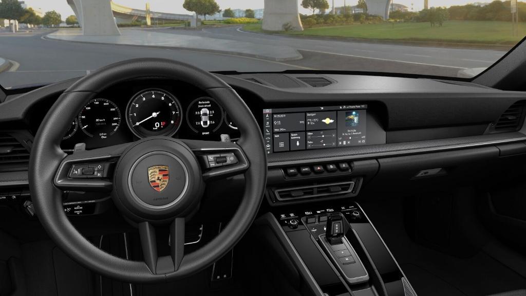 Porsche 911 2019 Interior 024