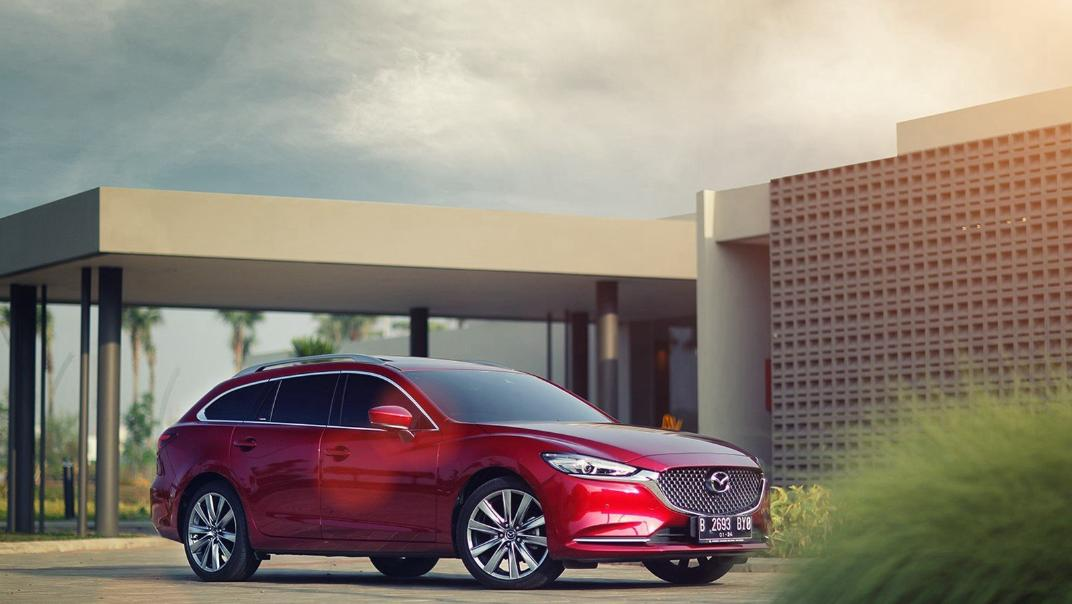 Mazda 6 Elite Estate Exterior 055