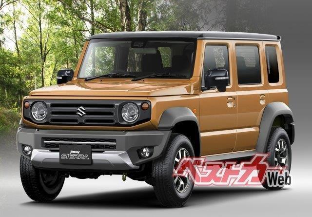 Spesifikasi Suzuki Jimny 5 Pintu Terkuak: Lebih Panjang 30 cm, Mesin Tetap Sama 01