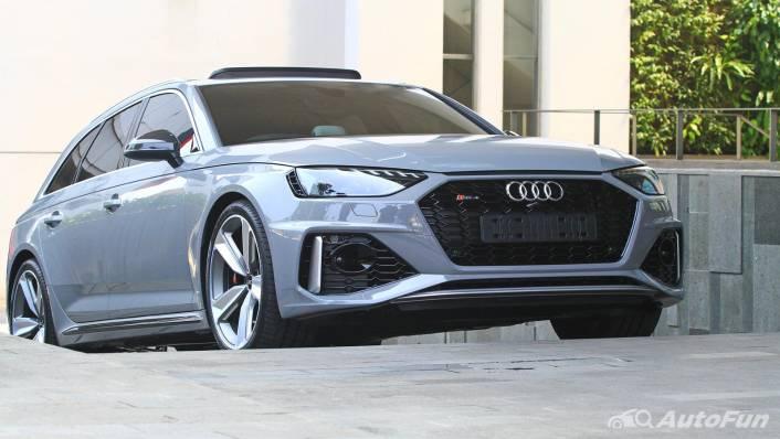 2021 Audi RS 4 Avant Exterior 002