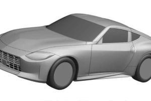 Gambar Paten Nissan Z Bocor, Mirip dengan Versi Konsepnya