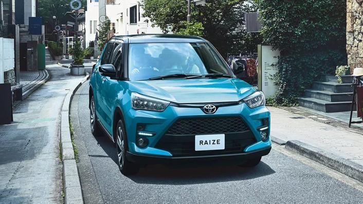 2021 Toyota Raize Upcoming Version Exterior 007