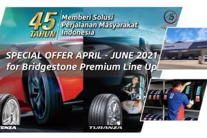Ulang Tahun ke-45, Bridgestone Indonesia Tawarkan Promo Spesial Bagi Pelanggannya