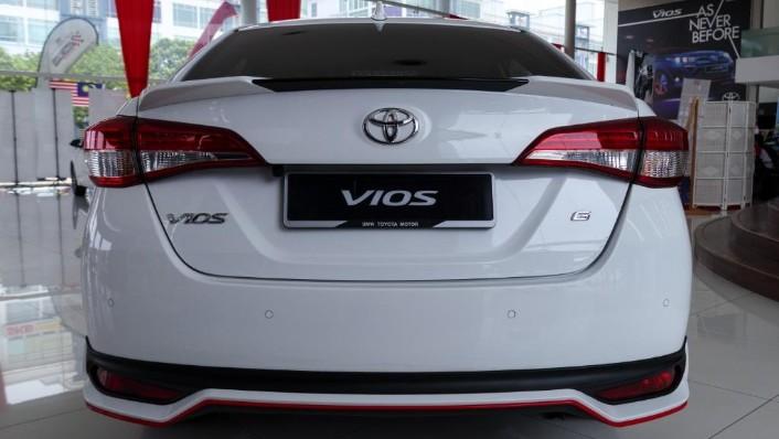 Toyota Vios 2019 Exterior 004