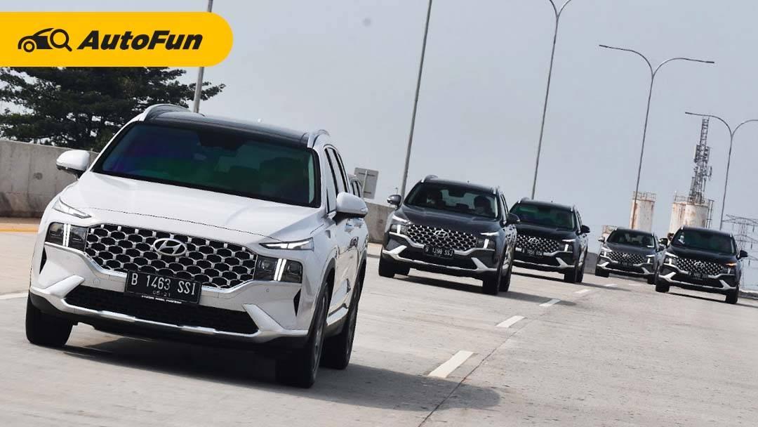 FAQ: Teknologi 'Shift By Wire' di New Hyundai Santa Fe, Cuma Pencet Tombol Buat Oper Gigi? 01