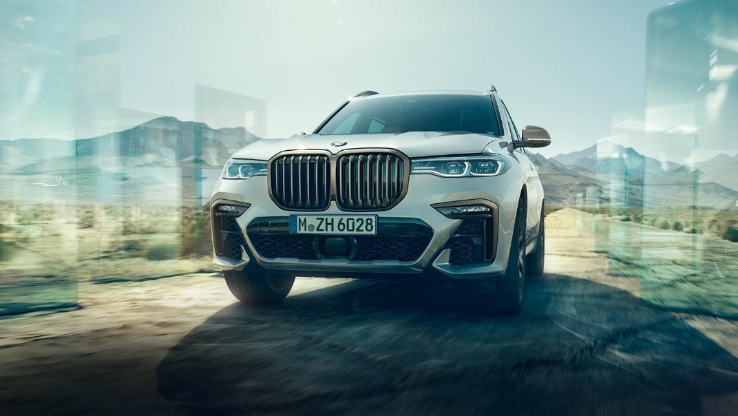 2021 BMW X7 xDrive40i Opulence Exterior 011