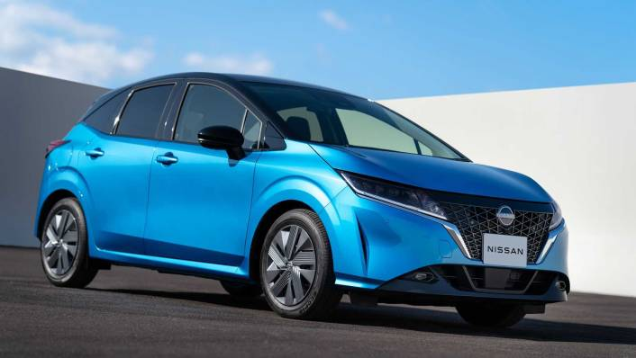 2021 Nissan Note Upcoming Version Exterior 005