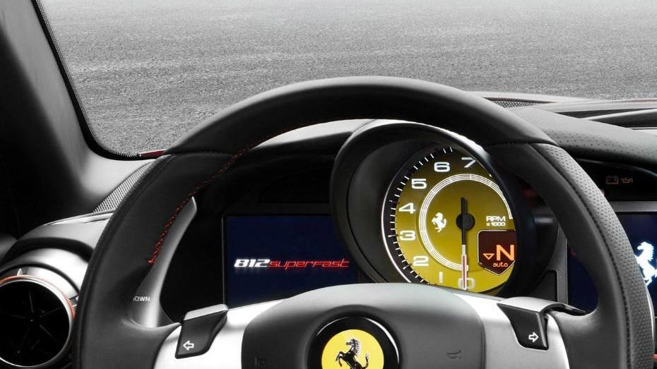 Ferrari 812 Superfast 2019 Interior 004