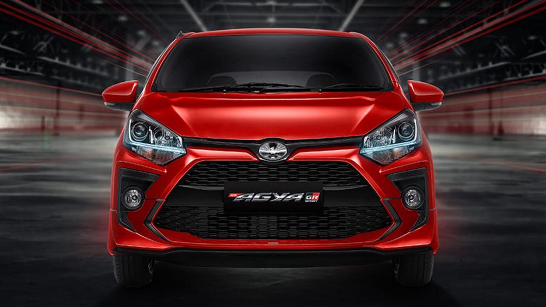 2021 Toyota Agya 1.2 GR Sport A/T Exterior 010