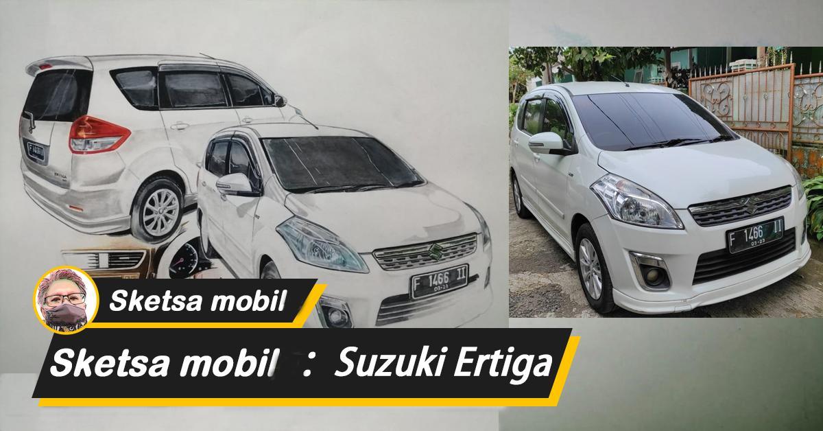 Simak Suzuki Ertiga yang dibangkitkan di atas kertas. Akankah ini menjadi LMPV pilihan baru Anda? 01